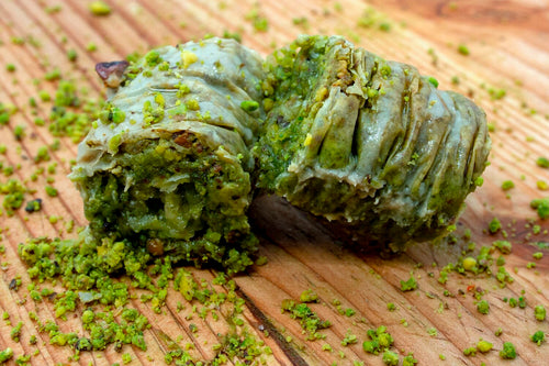 TURKISH BAKLAVA GREEN BURMA (PISTACHIO)
