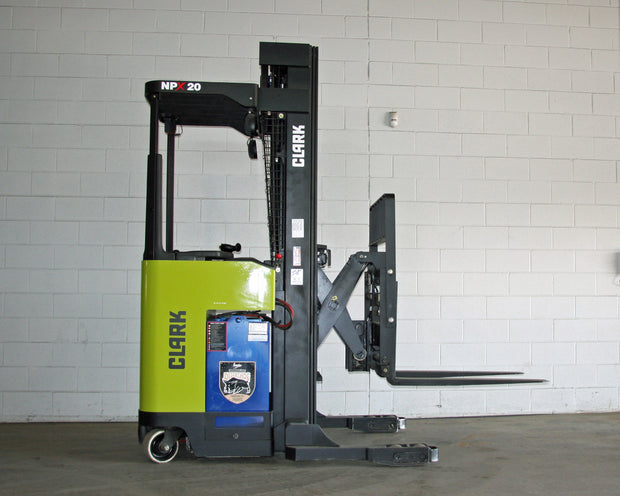 2016 Clark  Model NPX20 Reach Forklift (4,000 Lbs. Capacity)