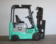 2011 Mitsubishi FBC25N Sit-down Electric Forklift (5,000 Lbs. Capacity)