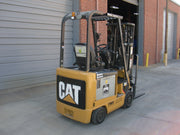 2015 Caterpillar E35001 Sit-Down Electric Forklift (3,500 Lbs. Capacity)