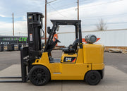 2015 Caterpillar GC70K Warehouse Forklift (15,500 Lbs. Capacity)