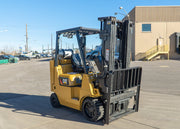 2015 Caterpillar GC40K Warehouse Forklift (8,000 Lbs. Capacity)