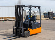 2011 Doosan B20T-5 Sit Down Electric Forklift (4,000 Lbs. Capacity)