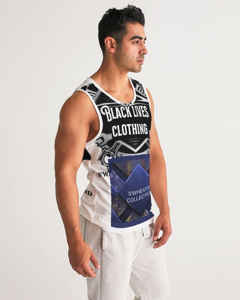 Black owned and operated Men's Sports Tank