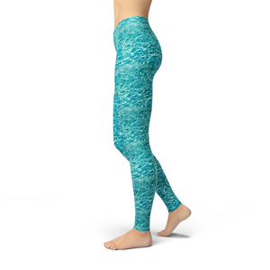 Jean Water Ripples Leggings