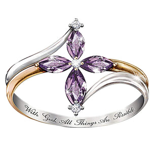 Open image in slideshow, Rings for Women with God.