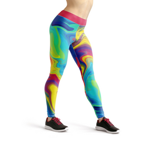 Beverly Rainbow Liquid Leggings