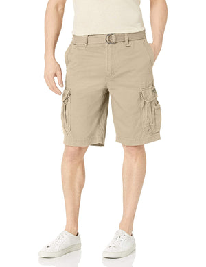Open image in slideshow, Men's Survivor Belted Cargo Short-Reg and Big & Tall Sizes