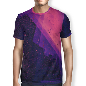 Open image in slideshow, Pink Splatter Men's T-Shirt