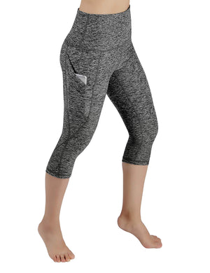 Open image in slideshow, High Waist Out Pocket Yoga Pants Tummy Control Workout Running 4 Way Stretch Yoga Leggings
