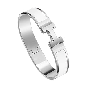 Open image in slideshow, Stainless Steel Fashion Buckle Bracelet.