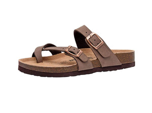 Open image in slideshow, Women's Luna Cork Footbed Sandal with +Comfort