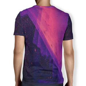 Pink Splatter Men's T-Shirt