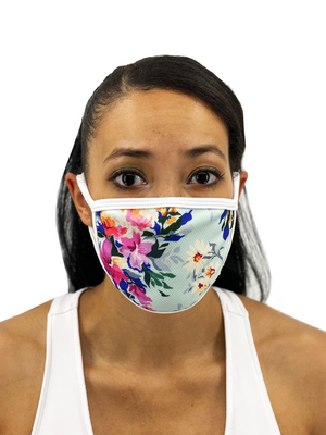 A Side of Daisies Face Mask With Filter Pocket