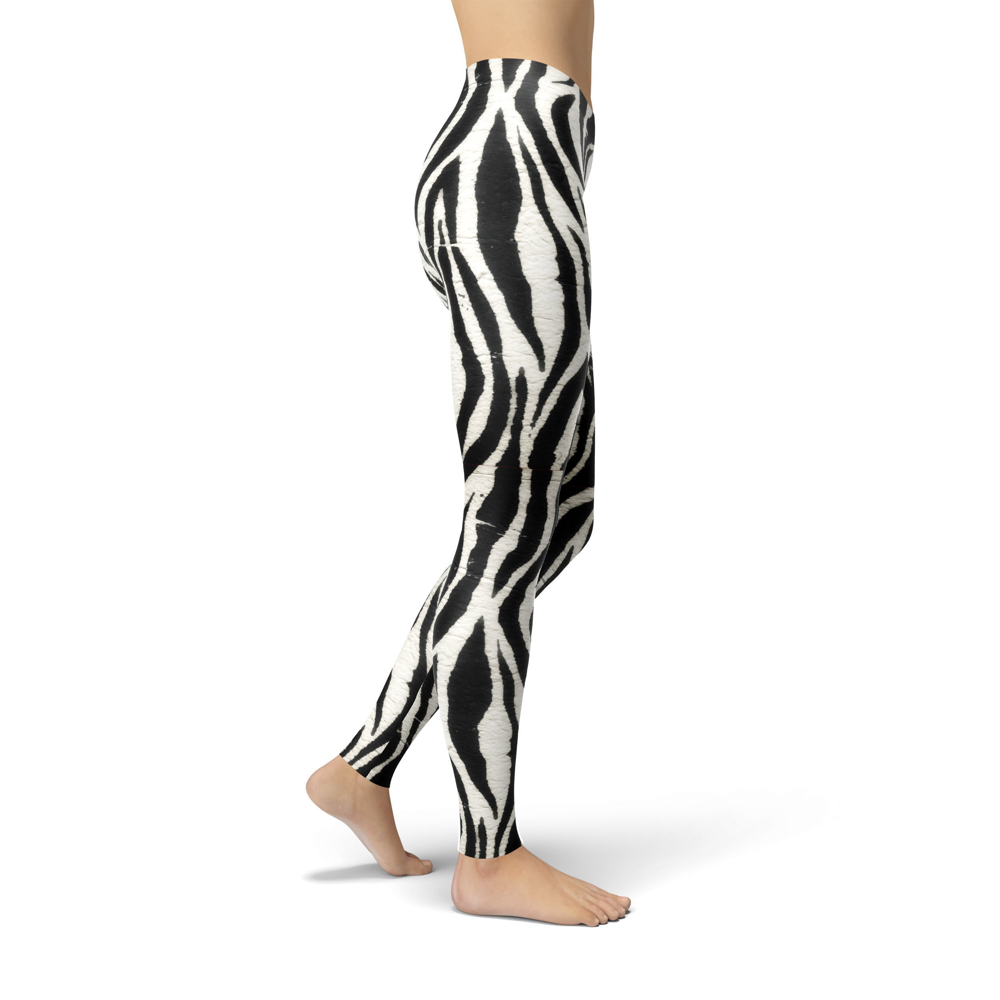 Jean Zebra Print Leggings