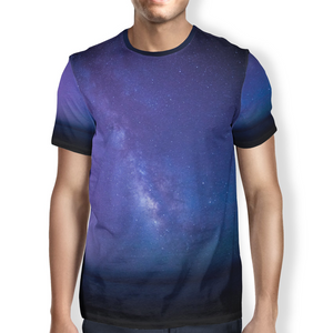 Open image in slideshow, Midnight Sky Men's T-Shirt