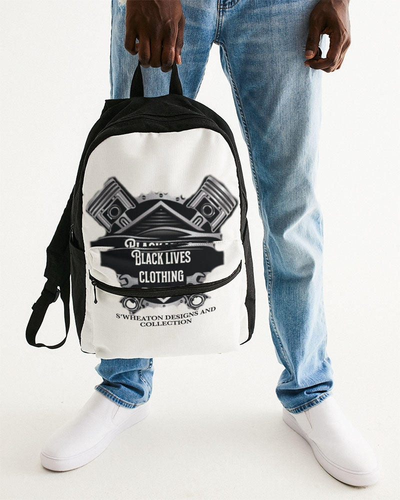 Black Lives Clothing Small Canvas Backpack