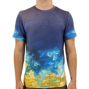 Open image in slideshow, Ocean View Men's T-Shirt