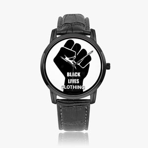 Open image in slideshow, 265. Black Lives Clothing Quartz watch - Black Lives Clothing