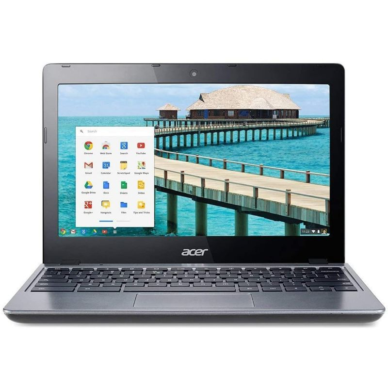 "Acer C720 11.6"" ChromeBook Celeron 2955U 4GB 16GB SSD Chrome OS - Black Lives Clothing"