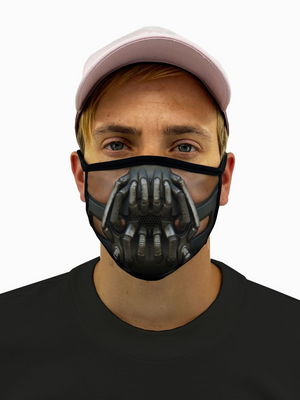 Open image in slideshow, Bane Face Mask With Filter Pocket - Black Lives Clothing