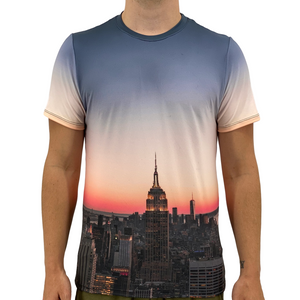 Open image in slideshow, New York Skyline Men's T-Shirt