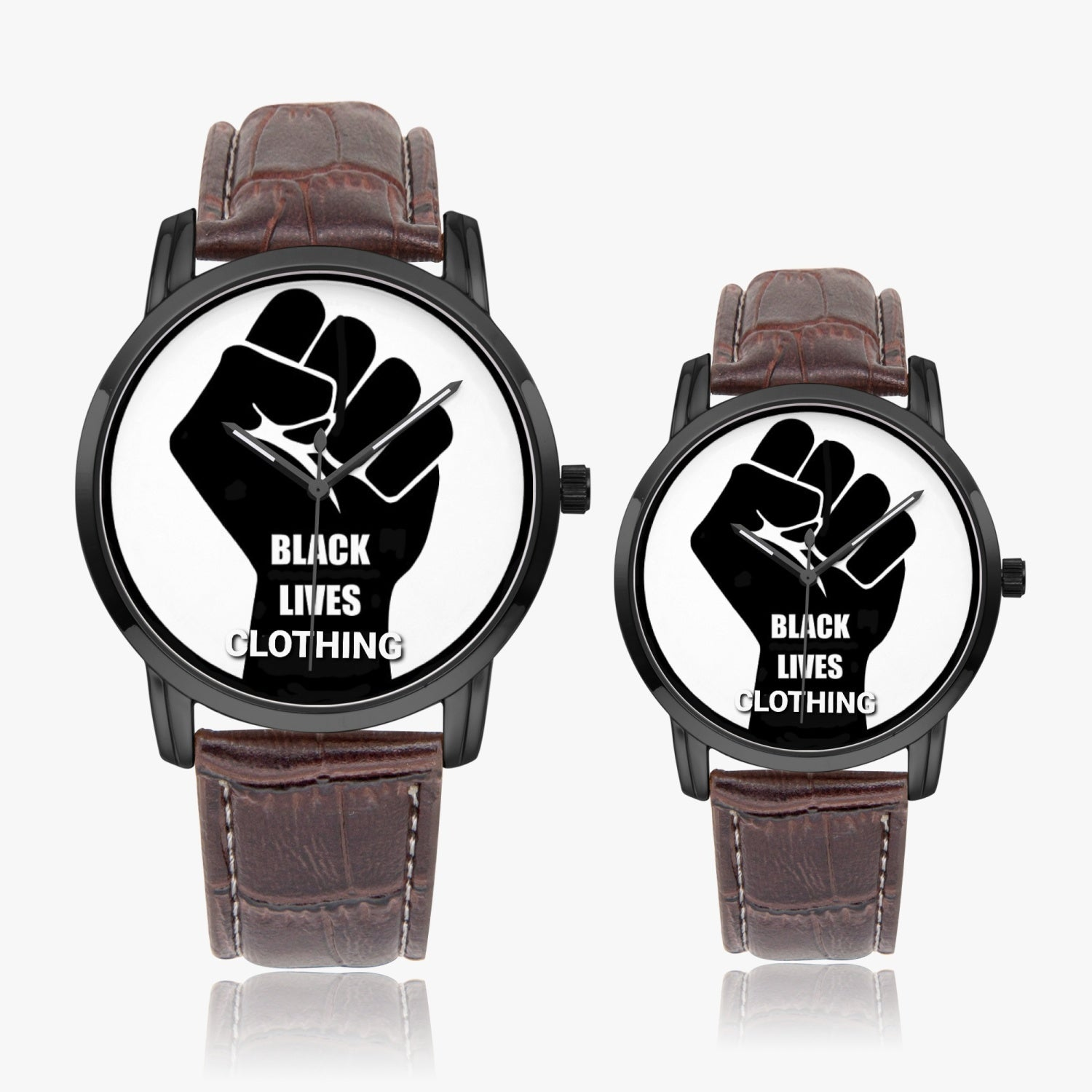 265. Black Lives Clothing Quartz watch - Black Lives Clothing