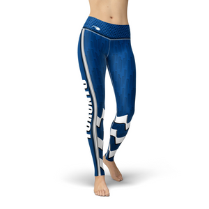 Open image in slideshow, Jean Toronto Hockey Leggings - Black Lives Clothing