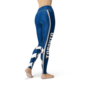 Jean Toronto Hockey Leggings - Black Lives Clothing