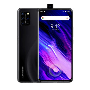 Open image in slideshow, UMIDIGI S5 Pro, 48MP Camera, 6GB+256GB Quad Back Cameras + Pop-up Front Camera, 4680mAh Battery,6.39 inch Android 10 Mediatek Helio G90