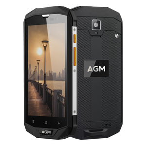 AGM A8 Triple Proofing Phone, 3GB+32GB, EU Version 4050mAh Battery, Network: 4G, Dual SIM, OTG, NFC 5.0 inch Android 7.0 - Black Lives Clothing