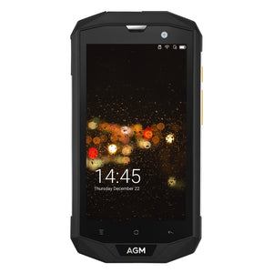 Open image in slideshow, AGM A8 Triple Proofing Phone, 3GB+32GB, EU Version 4050mAh Battery, Network: 4G, Dual SIM, OTG, NFC 5.0 inch Android 7.0 - Black Lives Clothing
