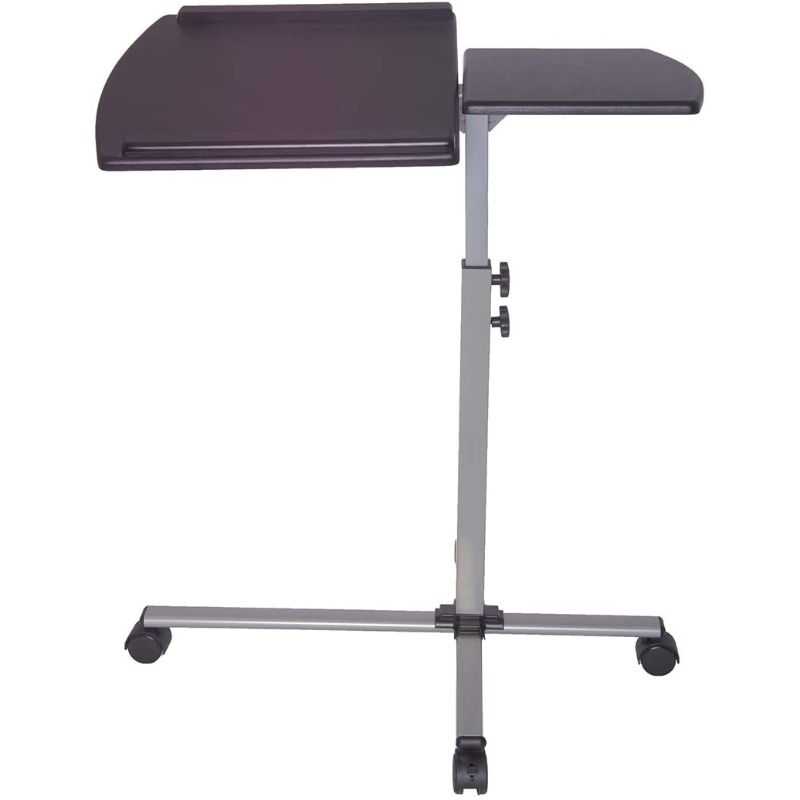 Rolling Adjustable Laptop Cart  Graphite - Black Lives Clothing