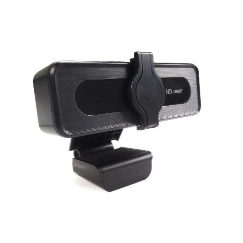 TEZL 1080P HD Webcam with Privacy Cover and Noise Reduction Mic - Black Lives Clothing