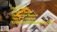 Portable #10 Can Sealer (Limited Availability!)