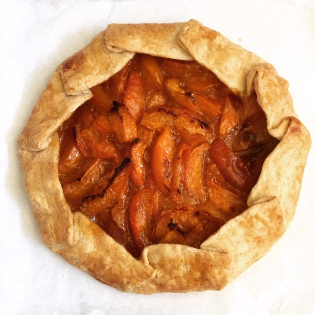 Apricot Pie (9 inch galette)