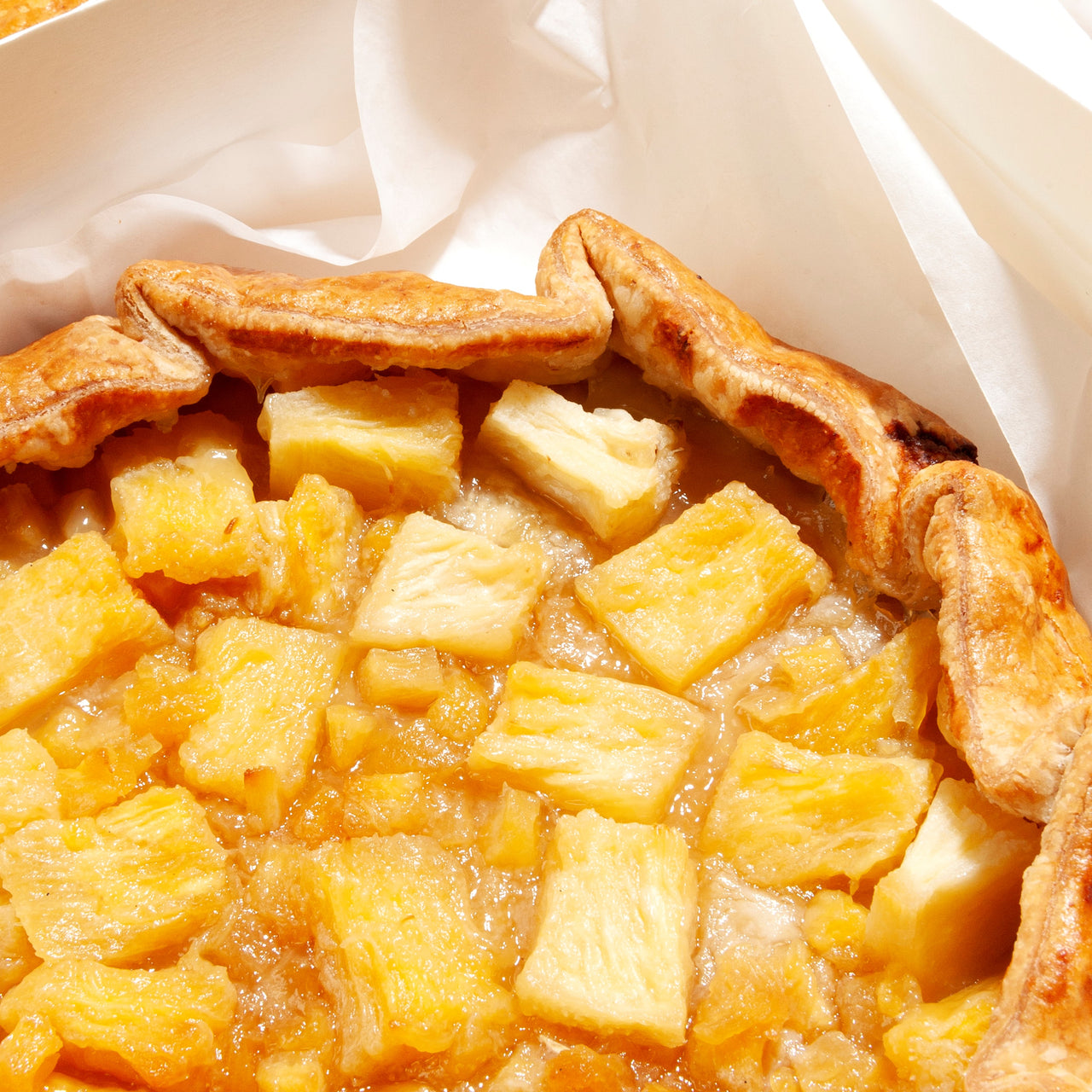 Brown Sugar Pineapple Pie (9 inch galette)