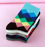 standard increase  casual cotton socks high quality delivery men socks, colorful socks (10 pairs / batch) No Box
