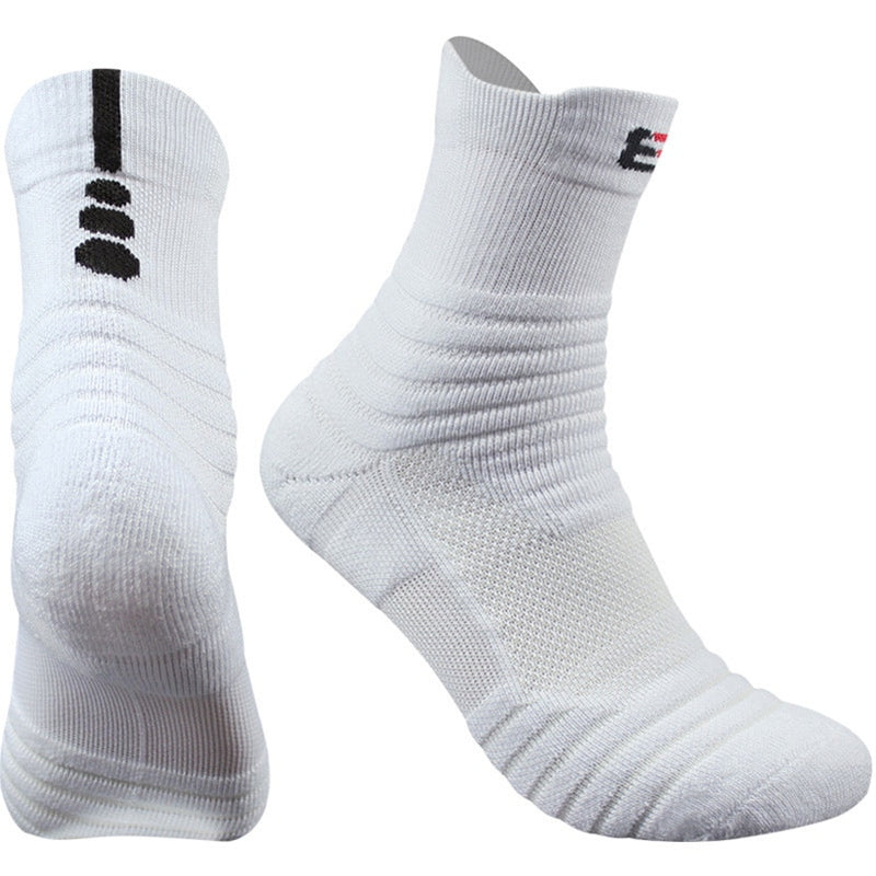 3 Pairs High Quality Cotton Men Socks w/ Profession Thermal Towel Bottom Foot