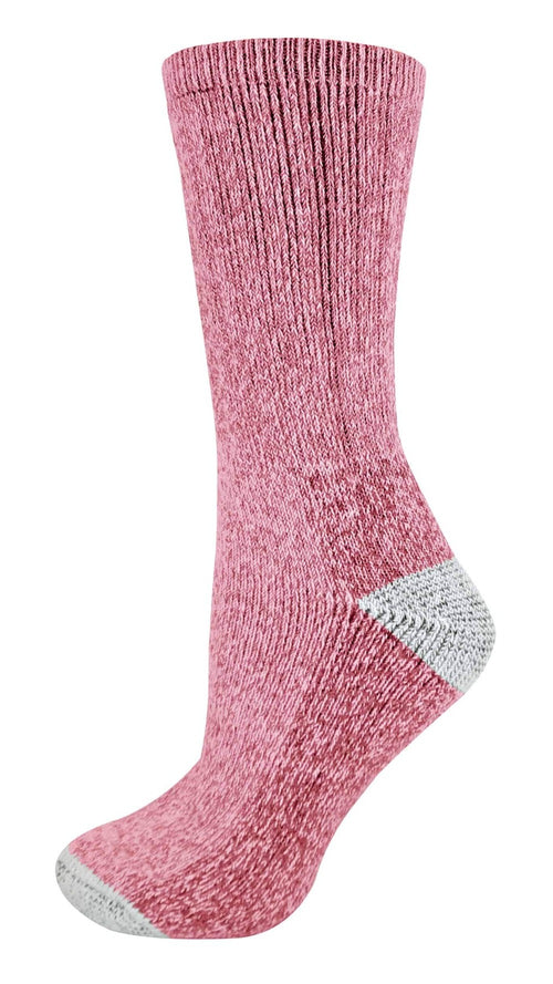 2 Pairs Ladies Wool Rich Hiking Socks