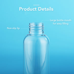 Empty Leak Proof Design Plastic Hand Sanitizer Packaging Bottles With Non-Slip Lip empty bottles for hand sanitizer