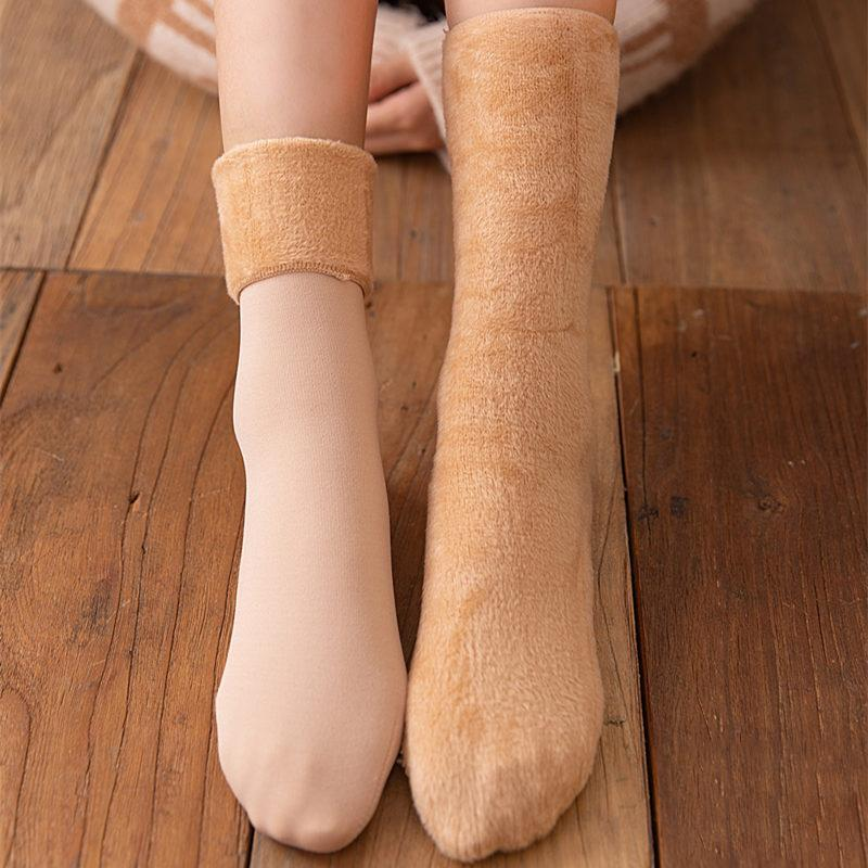 Winter Soft Plush Floor Socks