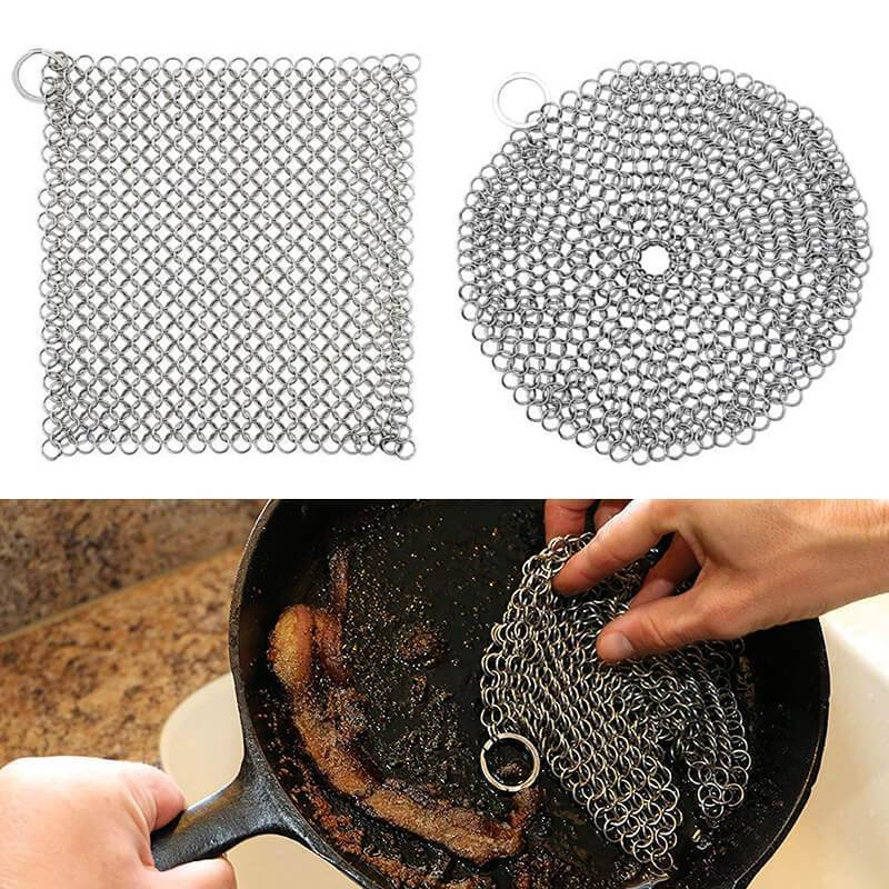 Stainless Steel Cast Iron Cleaner