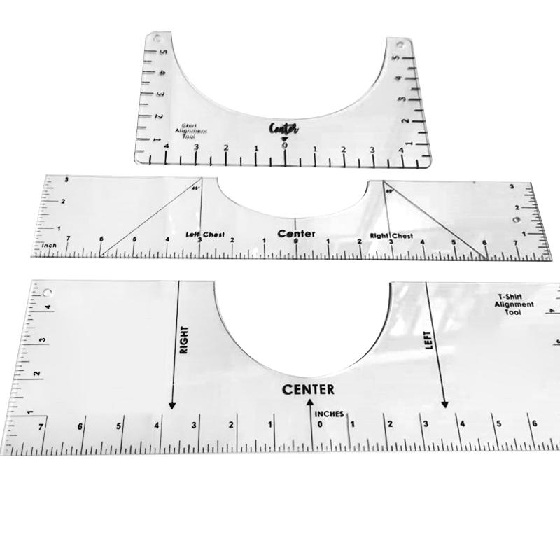 T-Shirt Ruler Guide Tool