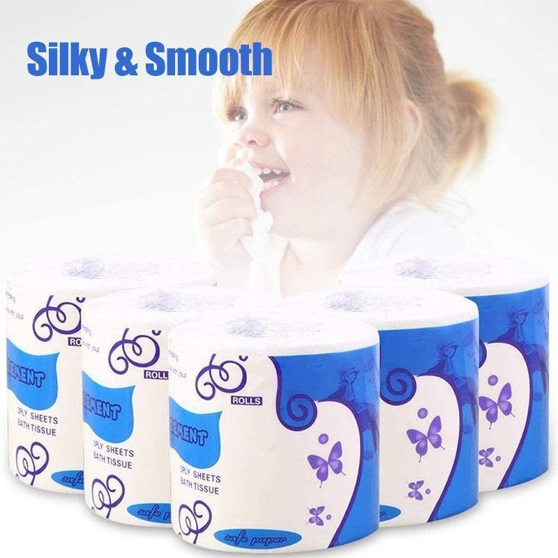 Silky & Smooth Premium 3-Ply Toilet Paper