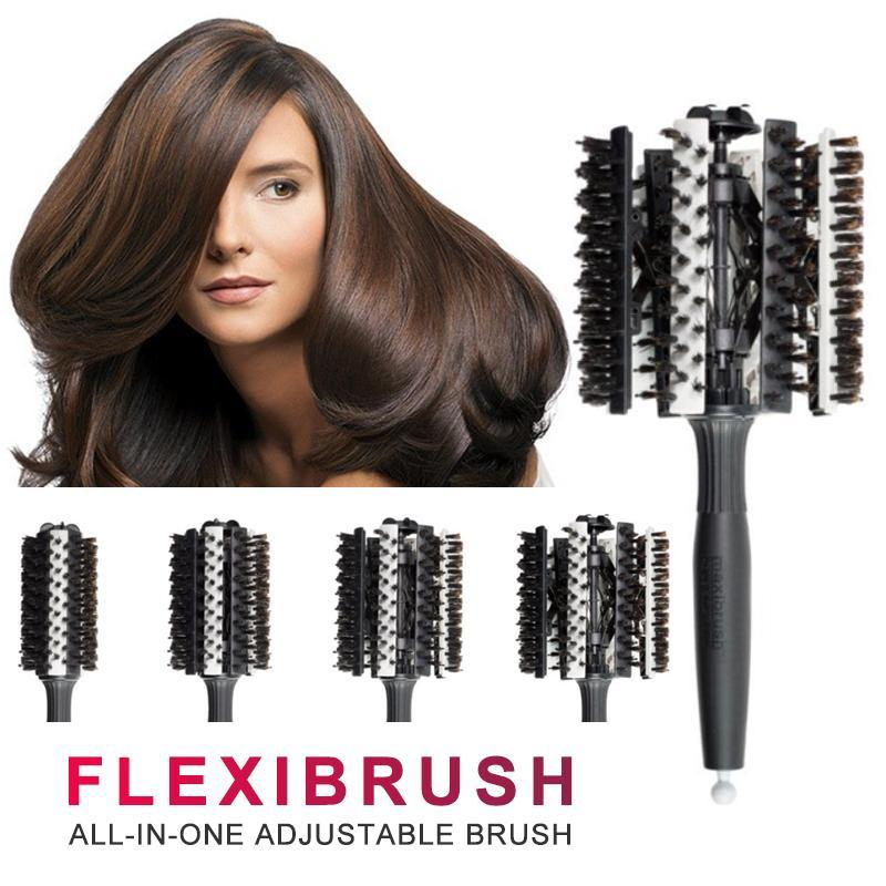 Adjustable Styling Brush For Healthy, Shiny, Beautiful Hair