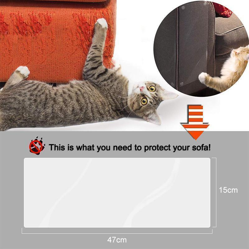 Cats Scratch-Resistant Furniture Protection Tape