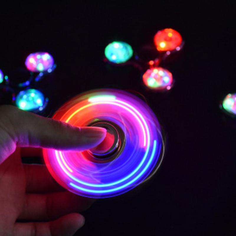 2021 NEW Crystal LED Spinning Top