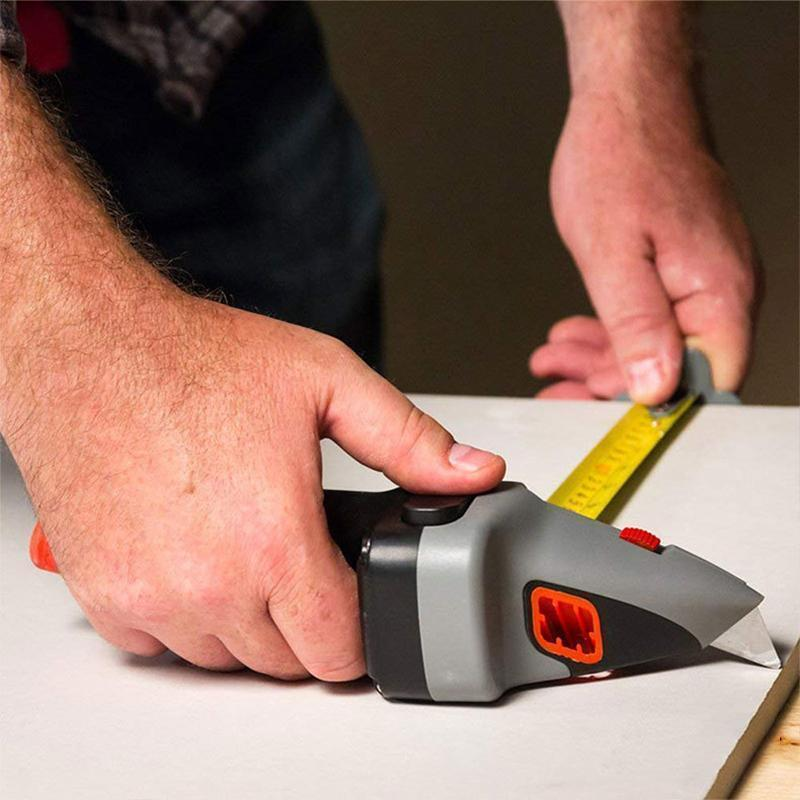 All-in-one Hand Tool with Measuring Tape and Utility Knife