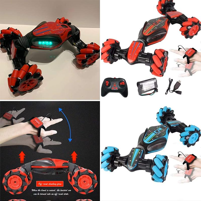 Deformation remote control car